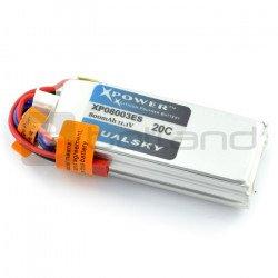 LiPol Dualsky package 800mAh 20C 3S 11.1V