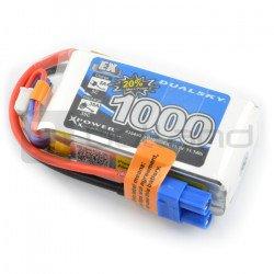 LiPol Dualsky package 1000mAh 35C 3S 11.1V