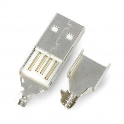 USB Type A plug for cable