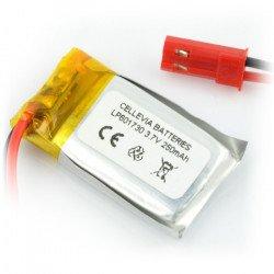 LiPol 250mAh 20C 1S 3.7V