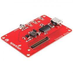 Console for Intel Edison - SparkFun Block