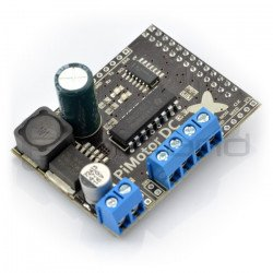 PiMotor - two-channel motor controller - Raspberry cover Pi