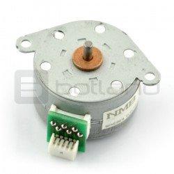 Stepper motor with gear PM35L-048-HPH7 24V 0.6A 0.04Nm