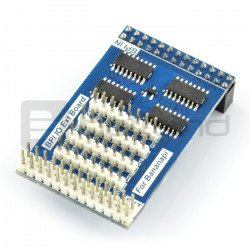 Extension of 74HC595 SPI outputs to Banana Pi