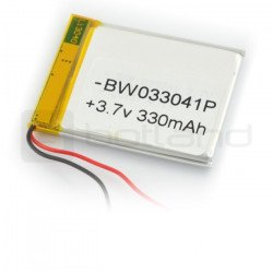 Li-Poly battery 330 mAh 3.7