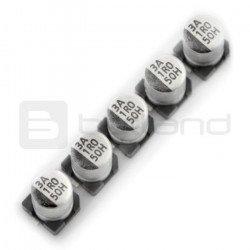Electrolytic capacitor 1uF/50V SMD - 5 pcs.