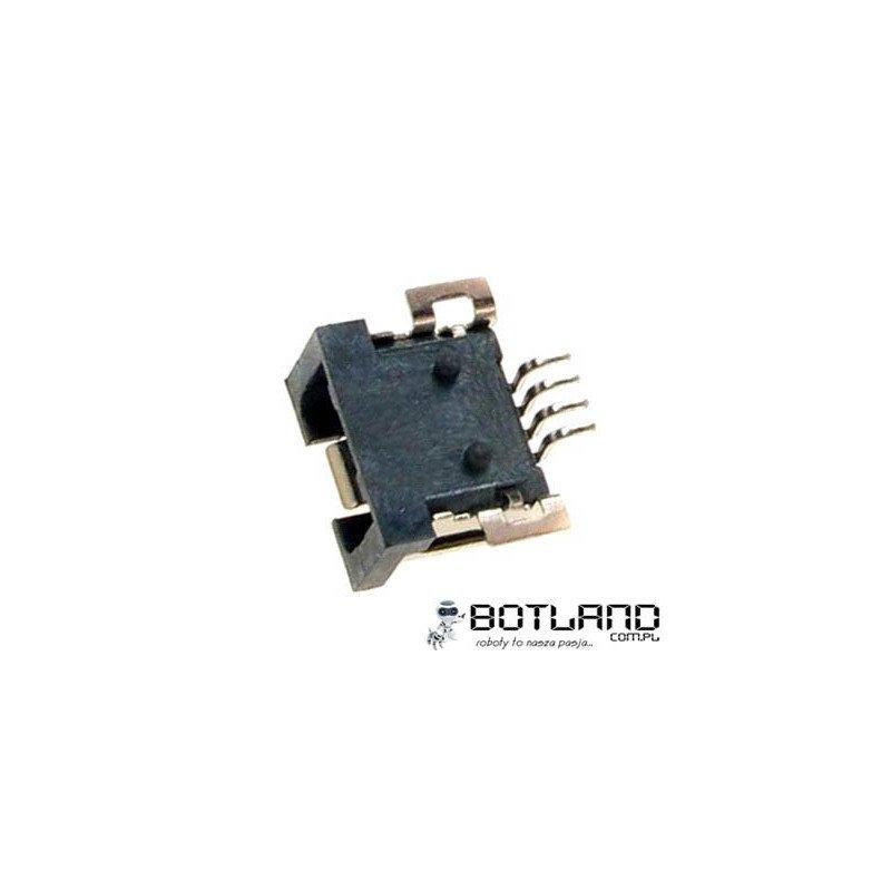 MiniUSB socket type A - SMD
