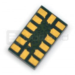 3-axis analogue accelerometer MMA7361LC