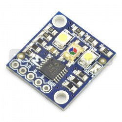 Analogue RGB colour detector with LED - MOD - 52