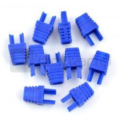 Bend for cable RJ45 8P8C - blue - 10pcs.
