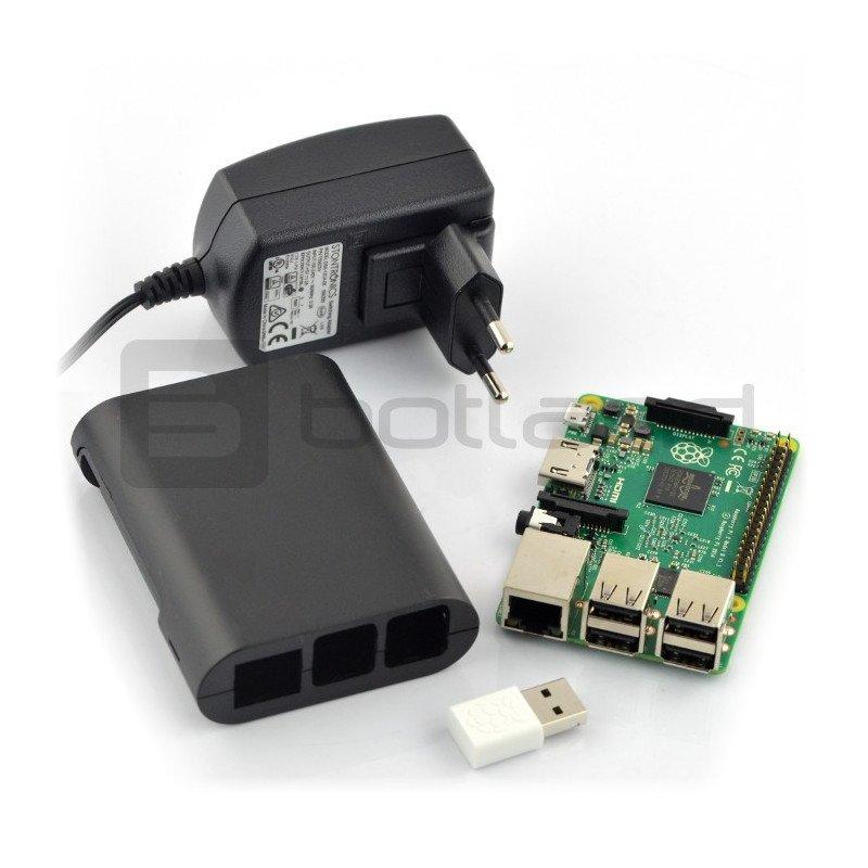 Raspberry Pi 2 model B WiFi Lite Black