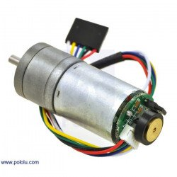 Geared motor 25Dx54L mm HP 99:1 + CPR 48 encoder