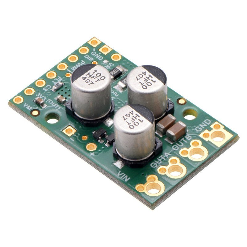 Pololu G2 High-Power 24v21 - 40V/21A motor controller