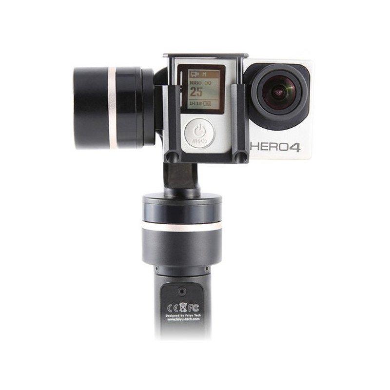 Gimbal handheld stabilizer for GoPro Feiyu-Tech G4QD cameras