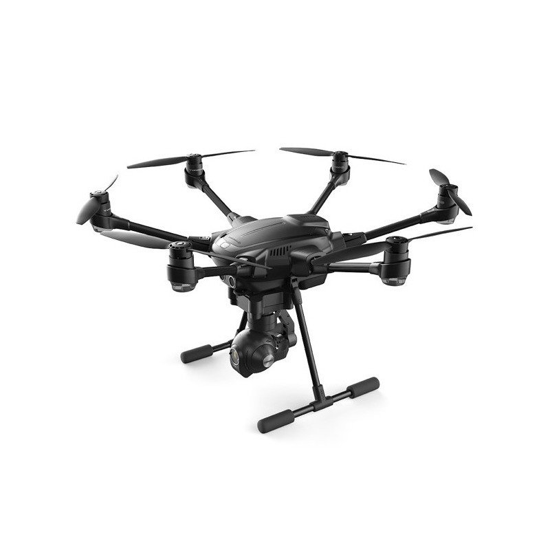 Yuneec Typhoon H Advanced FPV 2.4GHz + 5.8GHz hexacopter drone with 4k UHD camera + wizard pilot