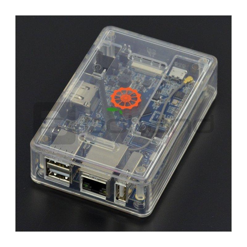 Housing for Orange Pi PC Plus - transparent