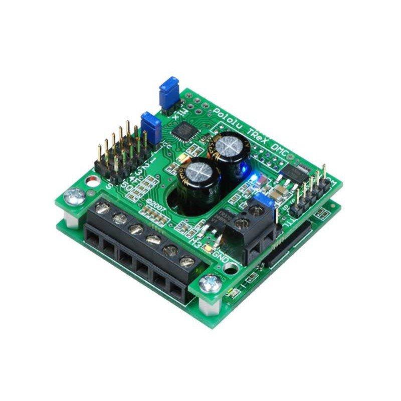 TReX DMC01 - dual-channel 16V/13A motor controller