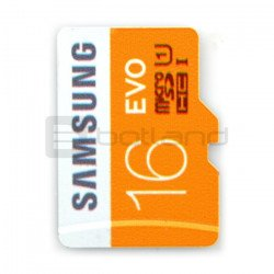 Memory card Samsung EVO micro SD / SDHC 16GB 320x UHS-I class 10