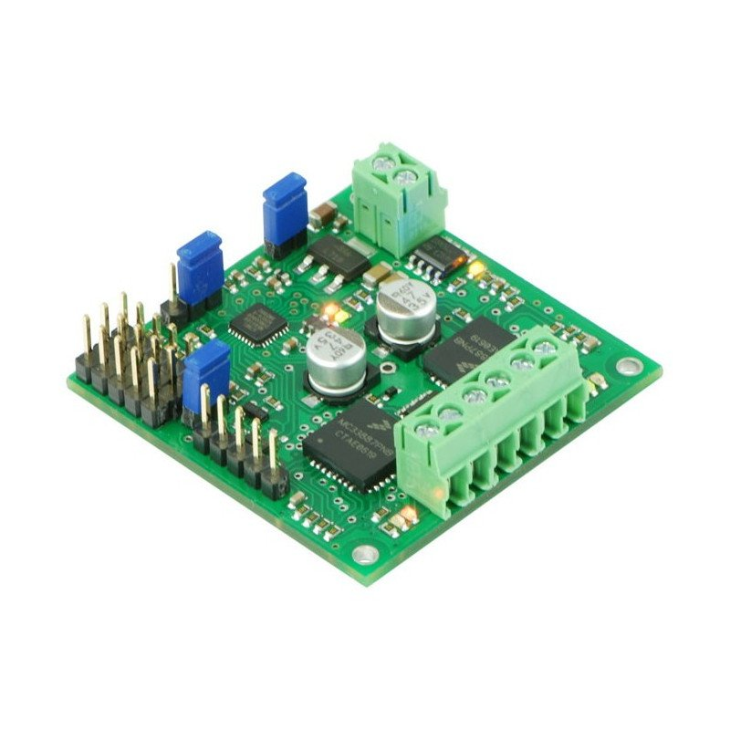 TReX DMC02 - two-channel 24V/2.5A motor controller