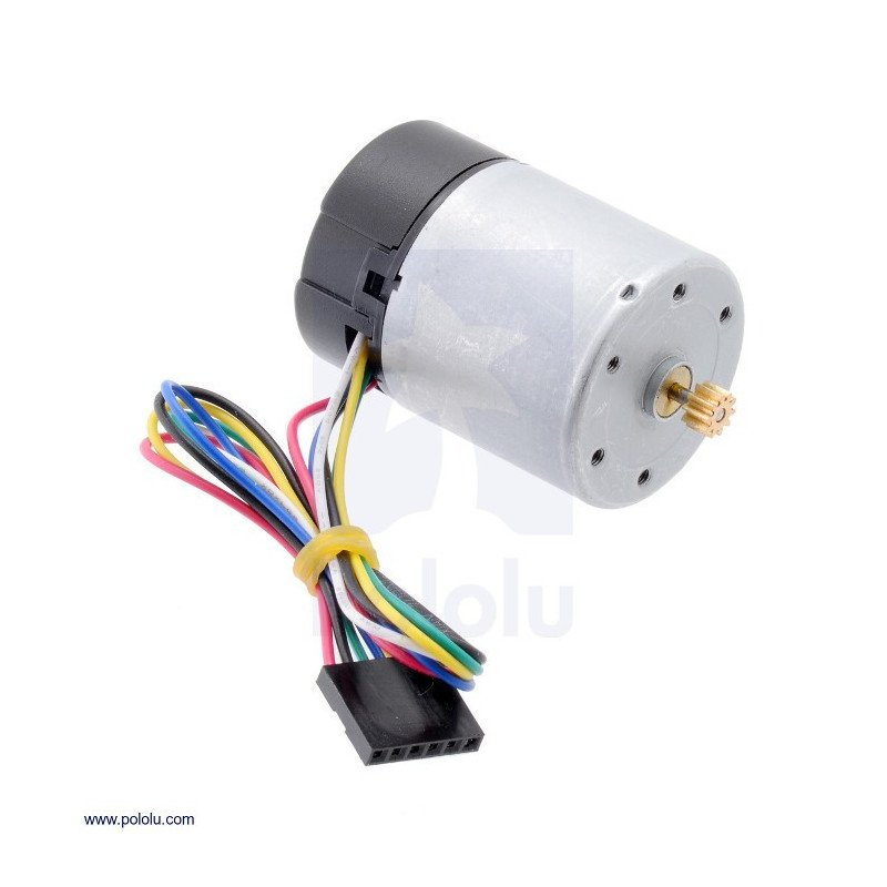 12V 11000RPM motor with CPR 64 encoder for 37D gearboxes