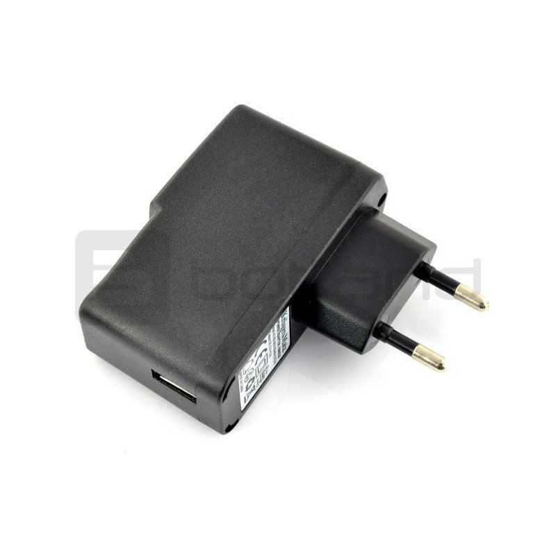 Kruger&Matz USB 5V 3A power supply + microUSB cables and 2.5 / 0.7 mm DC plug