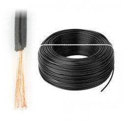 LgY 1x1,5 H07V-K - black - 1m