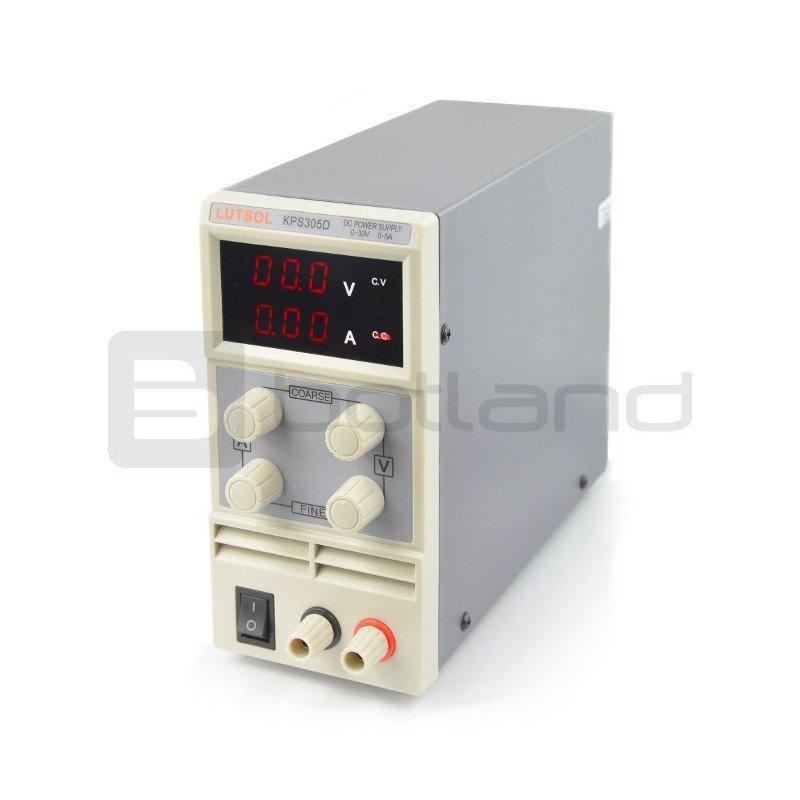 Lutsol KPS305D 0-15V 5A laboratory power supply unit