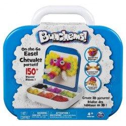 Bunchems coloured Velcro - travel set 150 items