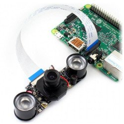 RPi IR-CUT Camera, Better Image in Both Day and Night
