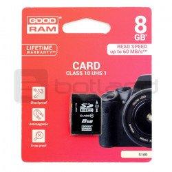 Memory card Goodram SD 8GB...