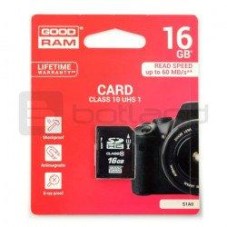 Memory card Goodram SD 16GB...