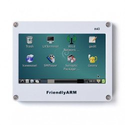 4.3''LCD with Resistive Touch Panel (H43)