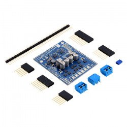 G2 Pololu Dual High-Power 18v18 - channel driver engines 30V/18A - shield for Arduino