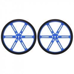 Polol wheels 90x10mm - blue