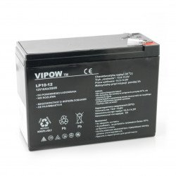 Gel battery 12V 10Ah Vipow