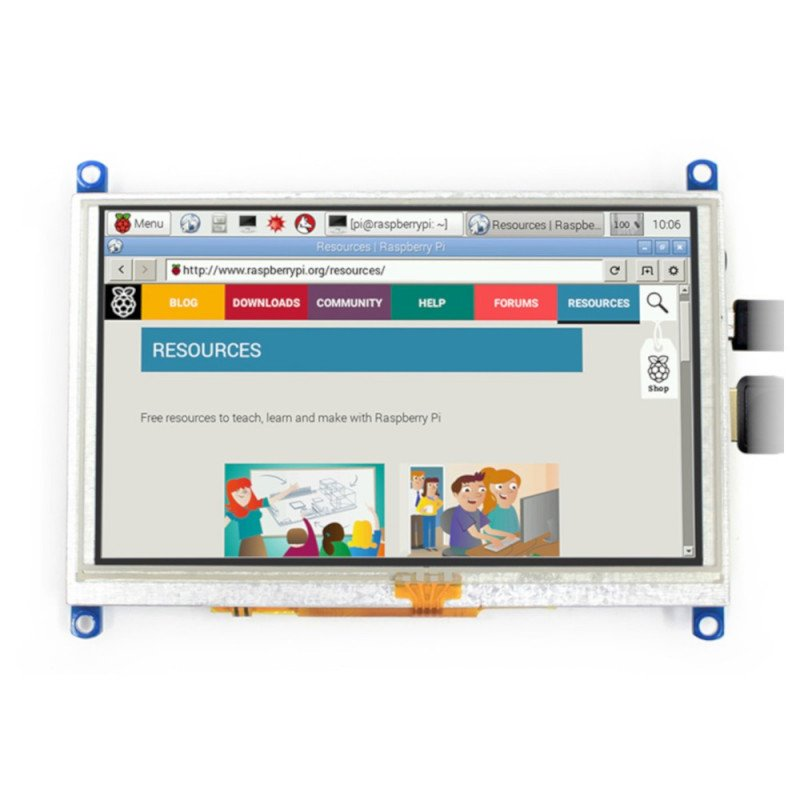 5inch LCD-HDMI (D) IC Test Board