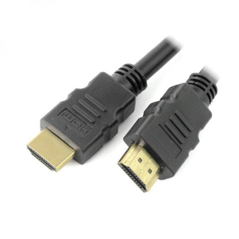 Przewód HDMI high speed with ethernet Goobay - dł. 0,5m