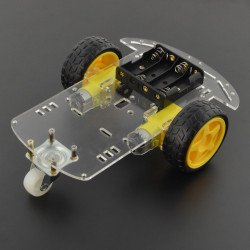 2WD chassis robot car