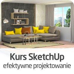 SketchUp course - effective design - ON-LINE version