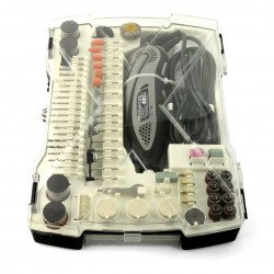 Precision Mini Drill Veleman VTHD09 - Engraving Set - 190 items