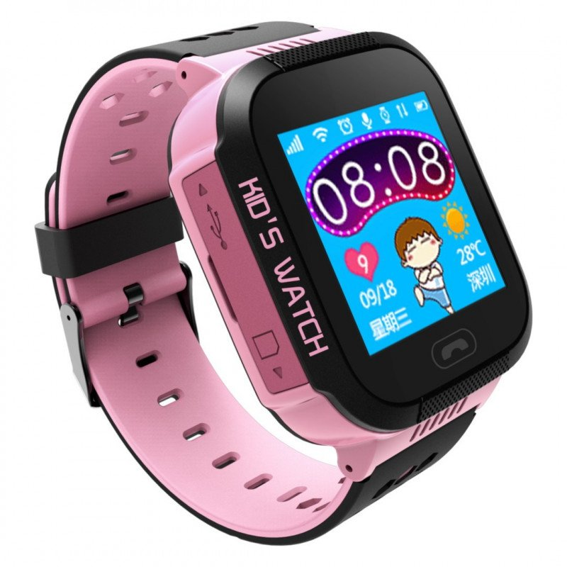 Watch Phone Go with GPS Tracker AW-K2 - Pink