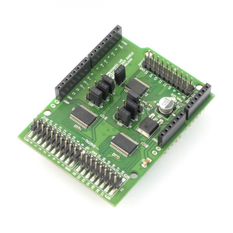 Numato Lab - Digital and Analog IO Expander Shield for Arduino