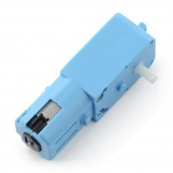 DC motor with 1:90 3-6V gearbox with single shaft - plastic
