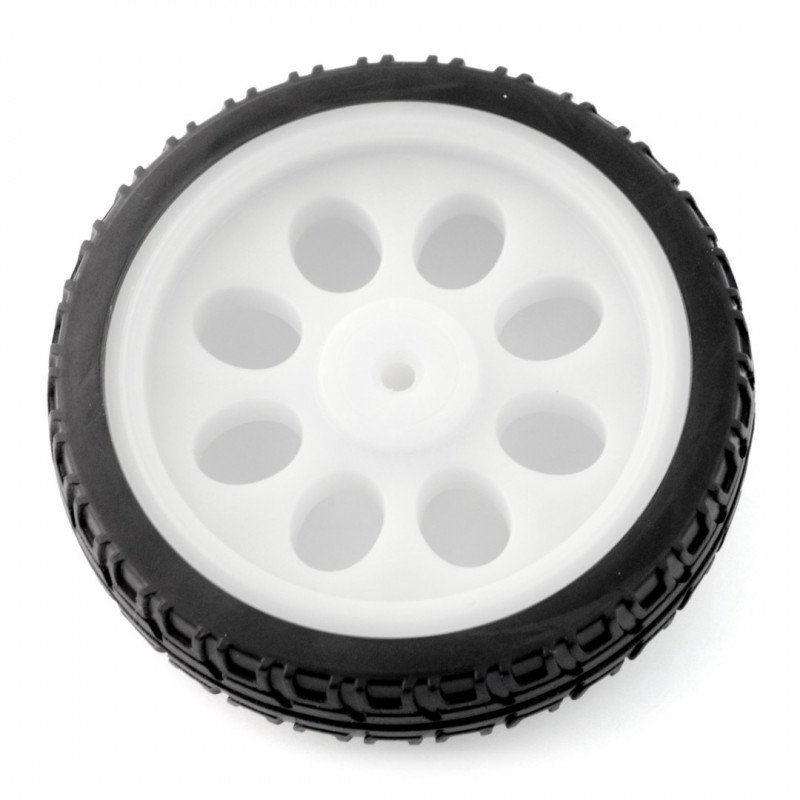 Circle 65x15 mm - white