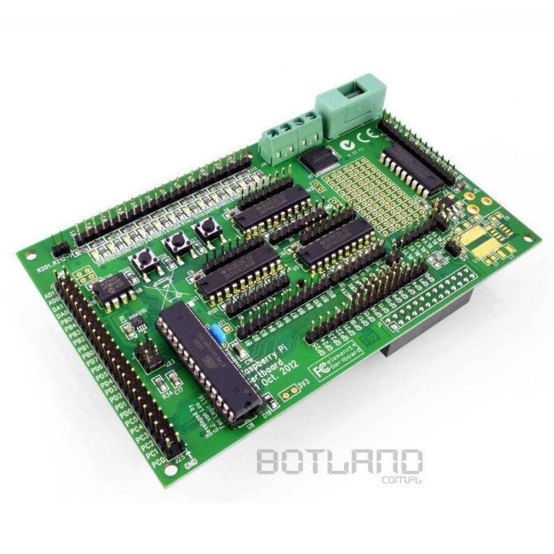 Gertboard - Expansion to Raspberry Pi - DC motor, GPIO