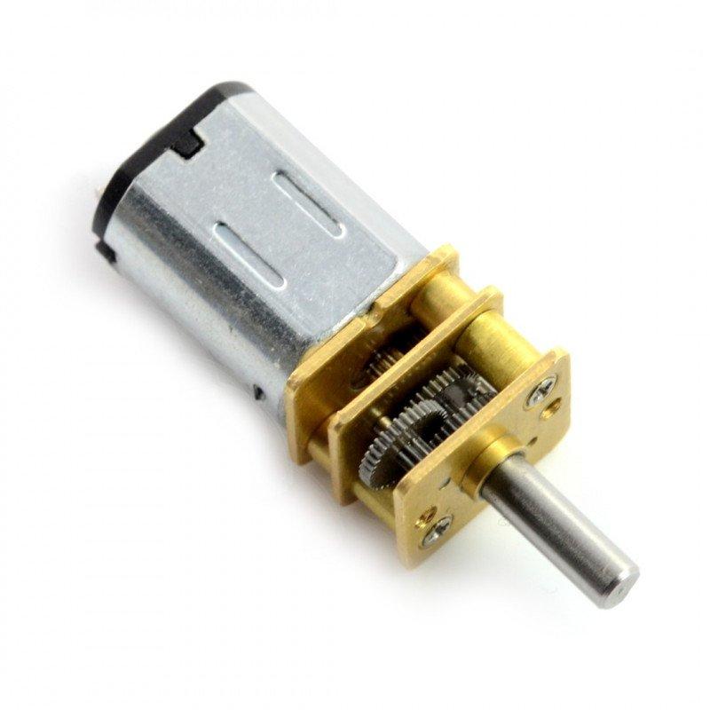 N20-BT24 micro 50:1 625RPM motor - 9V