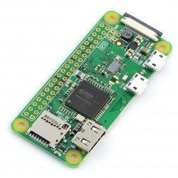 Raspberry Pi Zero W - WiFi Bluetooth 512MB RAM 1GHz