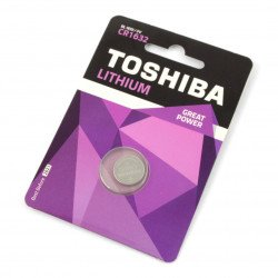 Toshiba 3V lithium battery CR1632