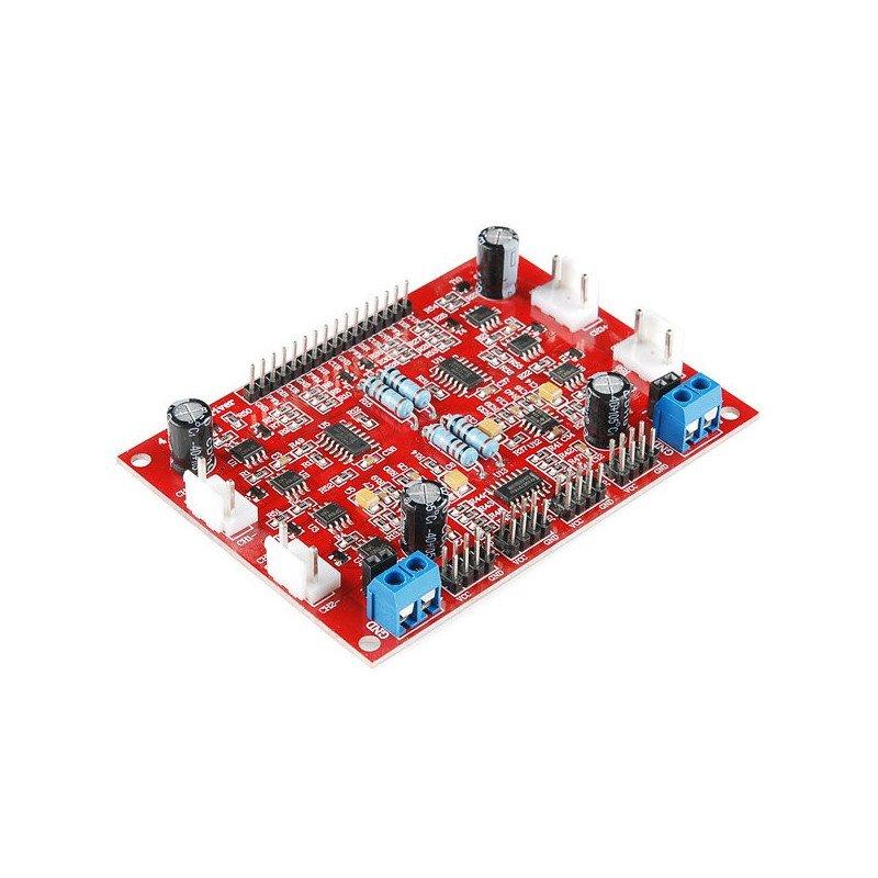 RaspiRobot robot controller for Raspberry Pi
