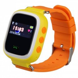 Watch for children with GPS locator - orange
